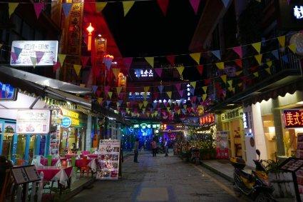 Yangshuo night maket