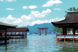 Itsukushima Shinto Shrine - near Hiroshima